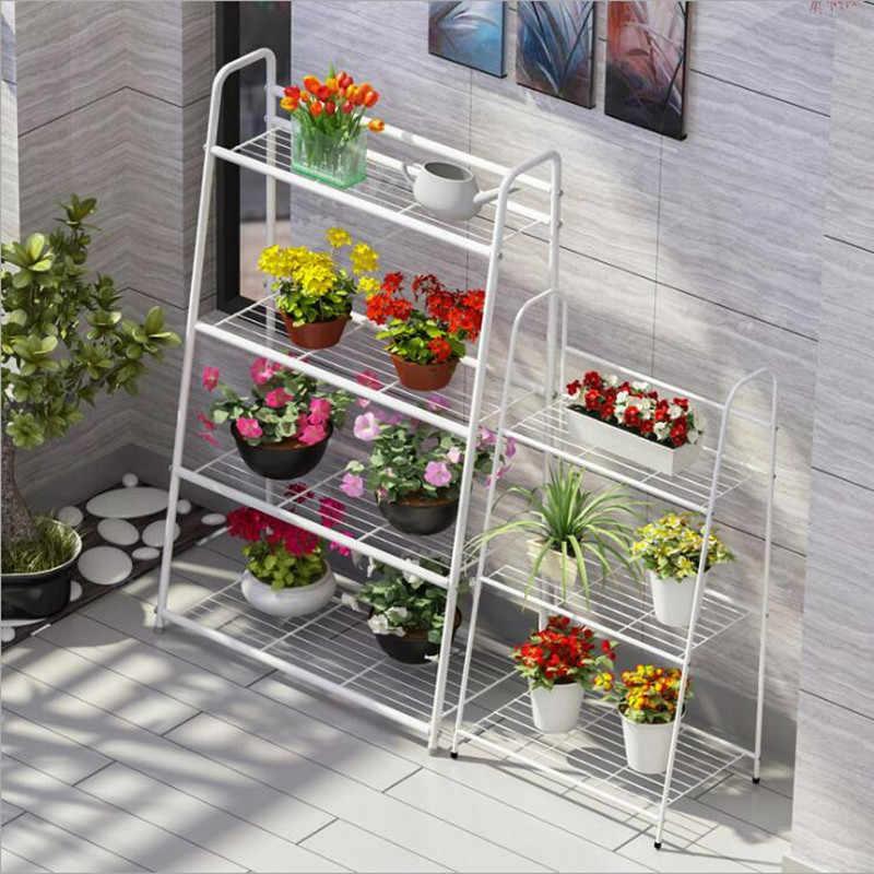 Modern Garden Plant Stand For Balcony Estante Plantas Outdoor
