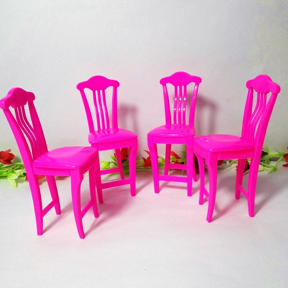 pink dolls house furniture. 4pcslot pink nursery baby high chair table 16 for barbie dollu0027s house dollhouse furnitureplay toys dolls furniture s