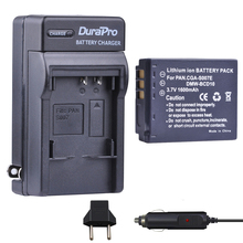1pc CGA-S007E CGA-S007 CGA S007 DMW-BCM10 Li-ion Battery+Car Charger for Panasonic DMC TZ1 TZ2 TZ3 TZ4 TZ5 TZ11 E1032P TZ50 TZ15