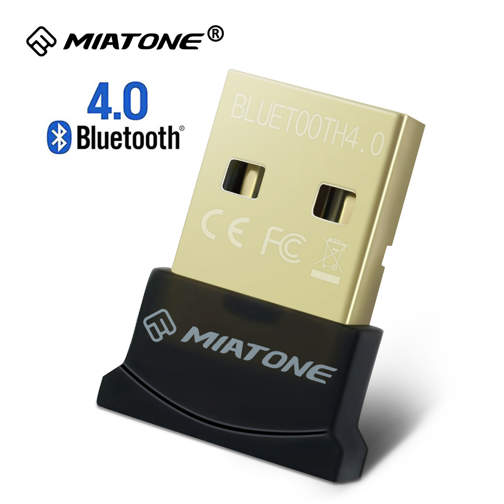 Bezprzewodowy adapter USB Bluetooth CSR 4.0 Podwójny tryb Mini Bluetooth Dongle nadajnik dla PC Windows 10 8 Win 7 Vista XP Linux