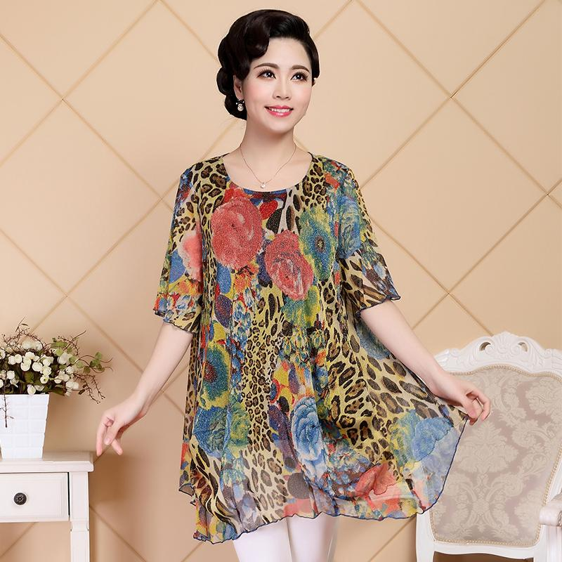 Online Shop 5XL Plus Size Women Dresses For Elderly Women Vintage ...