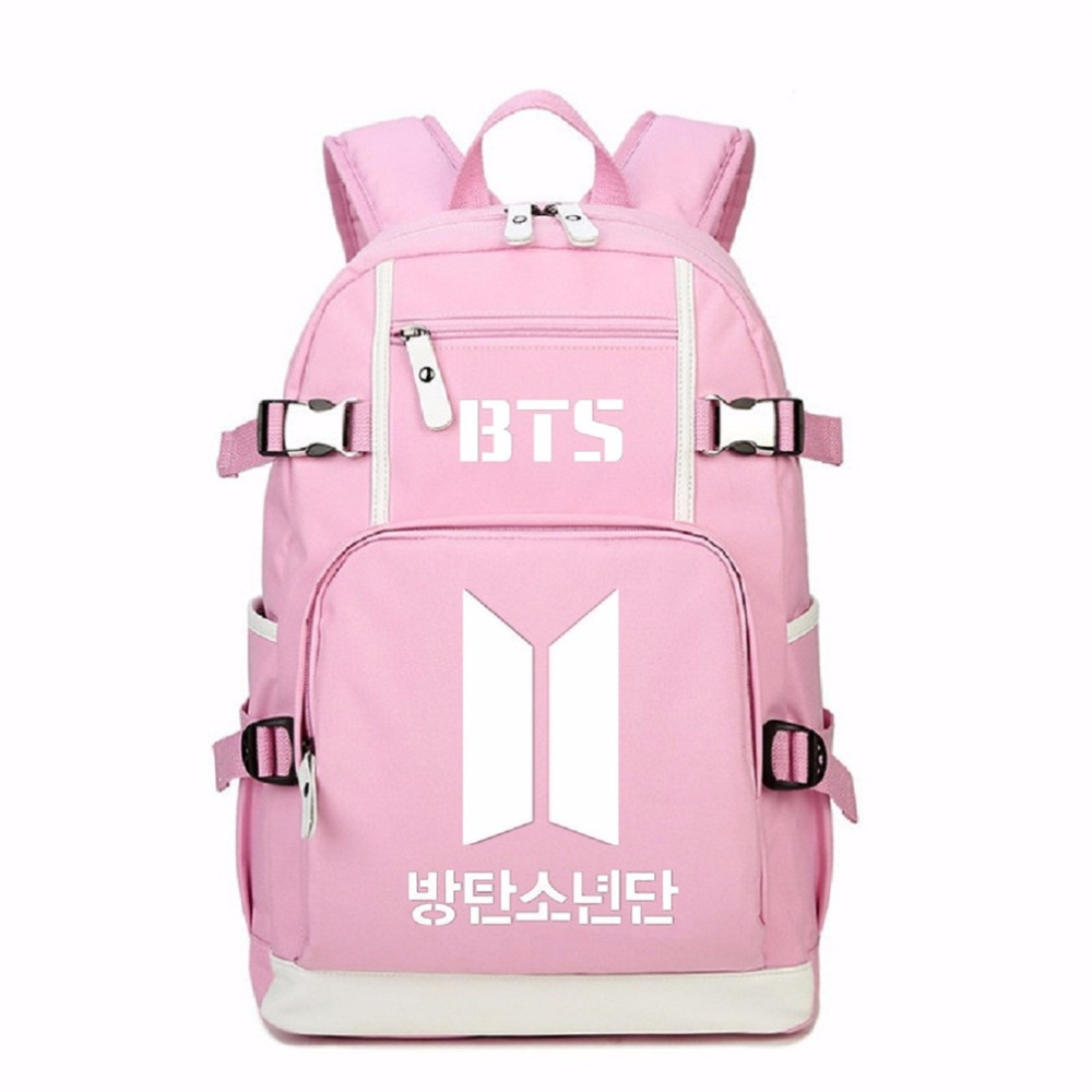 School Bags Qihong School Backpack Kpop Bts Bangtan Boys Love Yourself Posters Bt 21 Bag For Girls Bts Bag Bagpack For Boys Teenager Satchel