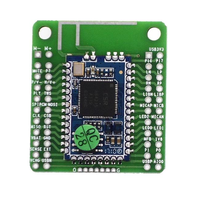 CSRA64215 4,0 4,2 Módulo de Audio Bluetooth de baja potencia, compresión APTX LL sin pérdida TWS I2S