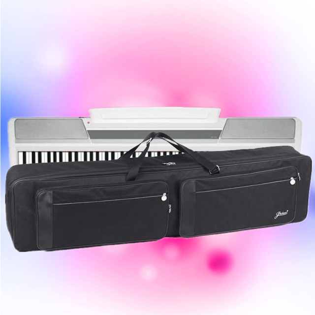 137.5cm professional portable durable 88 keyboard bag electric piano organ backpack synthesizer soft gig waterproof case package