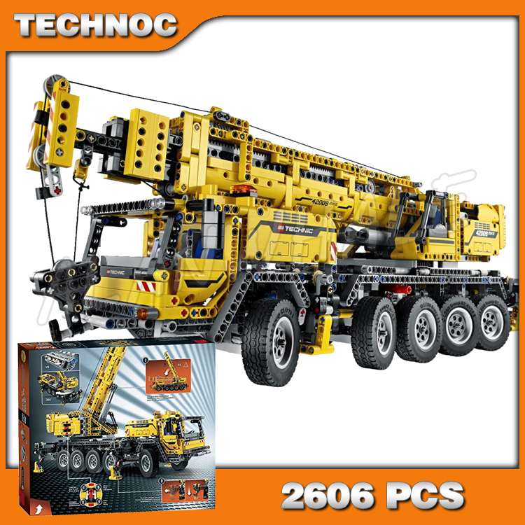 2606pcs New 20004 <font><b>Technic</b></font> Mobile Crane MK II Building Kit 3D Model Blocks Teenager Toys Bricks Set Machine Compatible with <font><b>Lego</b></font> image