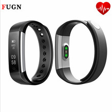 Fashion Bluetooth Smart Bracelet Passometer Fitness Tracker Heart Rate Watch Alarm Clock Vibration Wristband For iphone