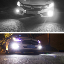 Car Fog lamp 1156/H11/H7/H16/9005/H4/9006 LED 33-SMD Extremely Bright 6000K White Bulbs for Fog Driving Light Lamps Replacement