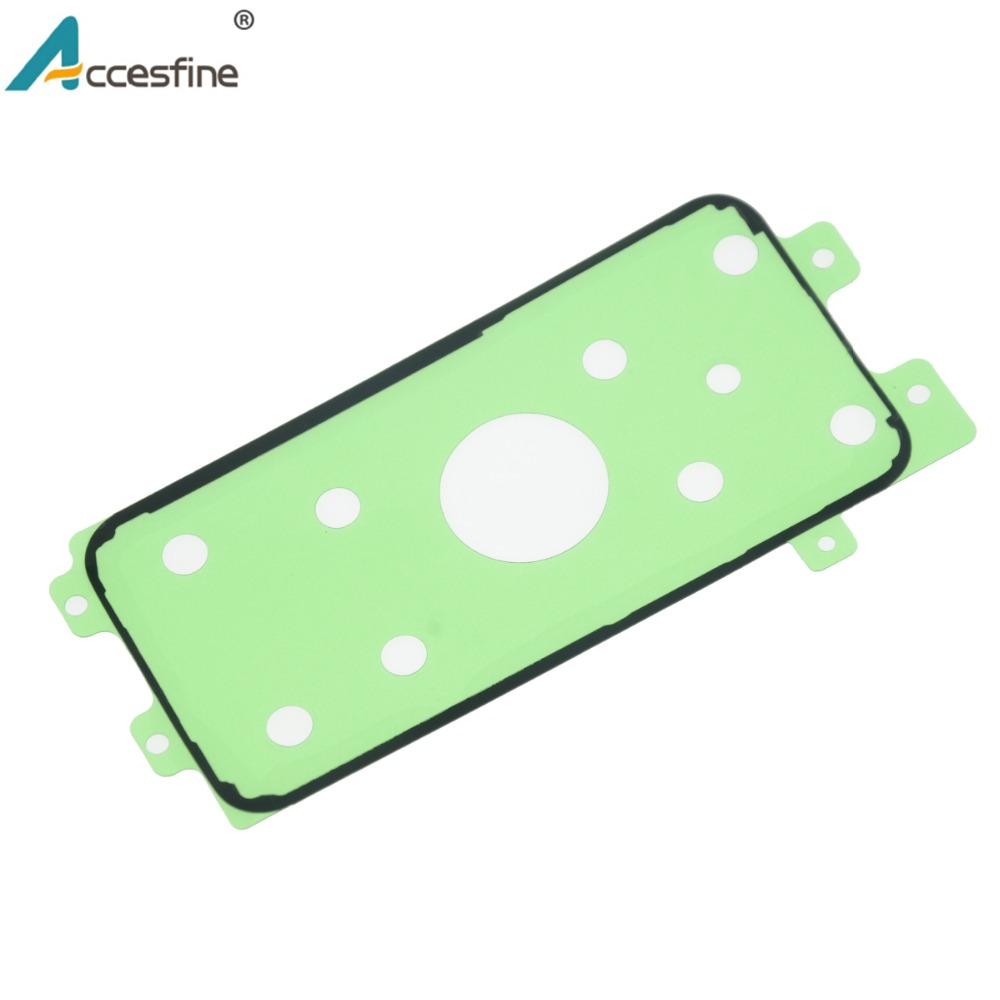 Image 5 - 20 x S6 S7 S8 Back Housing Adhesive Tape for Samsung Galaxy S6 S7 edge Back Glass Battery Cover Adhesive Sticker for S8 Plus-in Phone Sticker & Back Flim from Cellphones & Telecommunications