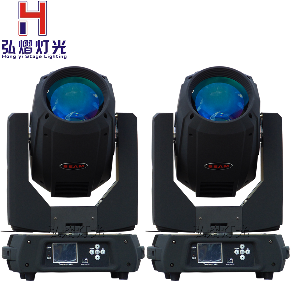 2pcs/lot new product Pro stage sharpy 350w 17r beam spot wash 350w moving head light
