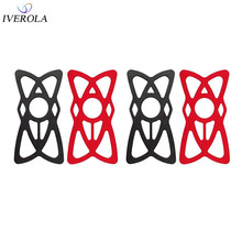 Univerola Security Rubber Band Replacement Silicone Strap for Cell Phone Mount Holder on Bike/Bicycle/Motorcycle/Handlebar