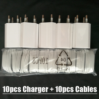 Best Price 10pcs Lot White 8Pin USB Sync Data Charger Micro Usb Cable Cord For IPhone