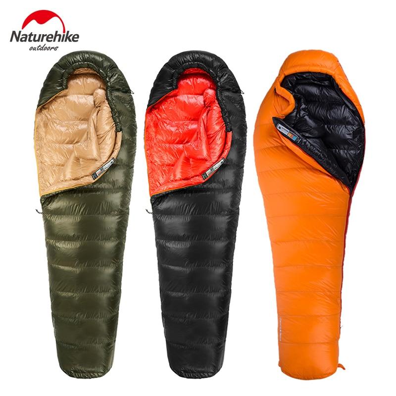 Naturehike Duck Down Sleeping Bag Outdoor Camping Mummy Sleeping Bag Winter Sleeping Bag Picnic Lazy Bag