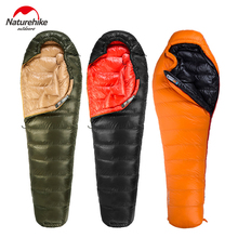 Naturehike Duck Down Sleeping Bag Outdoor Camping Mummy Winter Picnic Lazy NH15D800-K