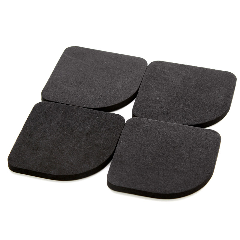 4PCS/Lot Anti Vibration Pads Washing Machine Refrigerator Feet Pads Protective Furniture Chair Table Leg Pad Non-Slip Shock Mat