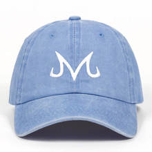 2019 new High Quality Brand Majin Buu Snapback Cap Cotton Washed Baseball Cap For Men Women Hip Hop Dad Hat golf caps(China)