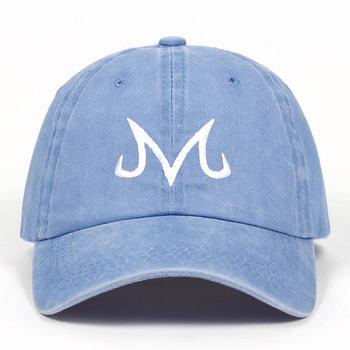2019 new High Quality Brand Majin Buu Snapback Cap Cotton Washed Baseball Cap For Men Women Hip Hop Dad Hat golf caps