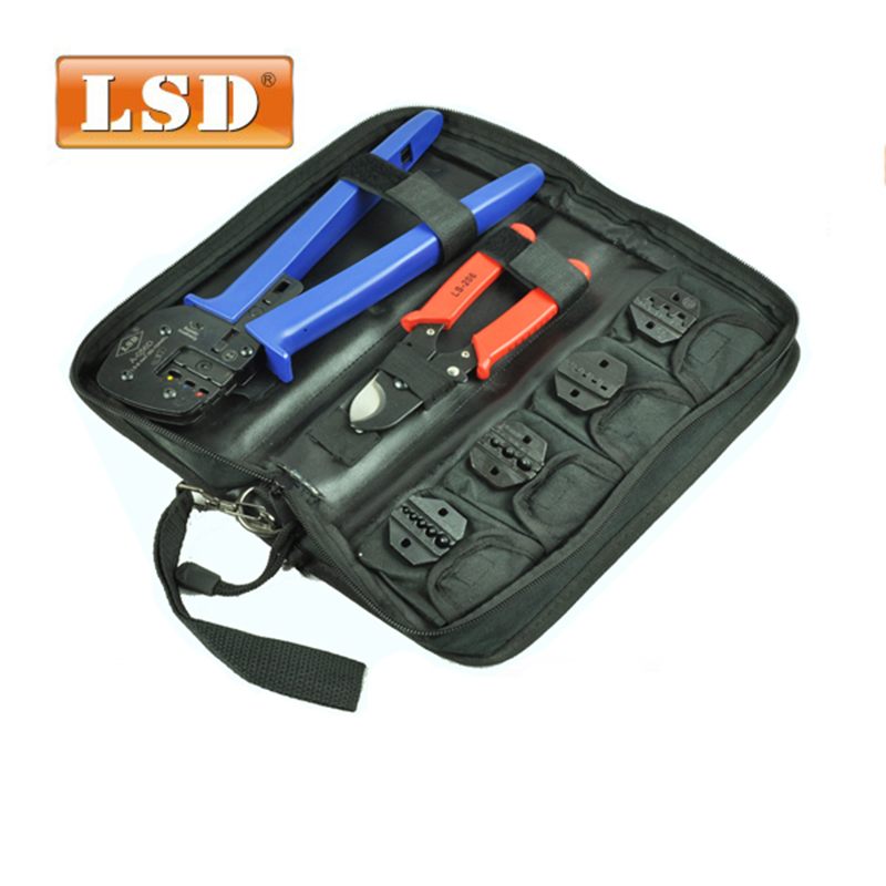 A K03D multi tool set with solar crimping tool and cable cutting tool combination electric tool set-in Hand Tool Sets from Tools    1