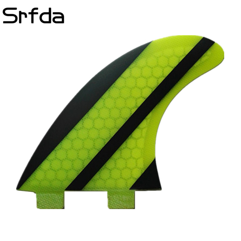 srfda Free shipping hot sell high quality for FCS box surf fins SUP surfboard fin (three-set) Fiberglass hongey bomb SIZE G5/Msrfda Free shipping hot sell high quality for FCS box surf fins SUP surfboard fin (three-set) Fiberglass hongey bomb SIZE G5/M