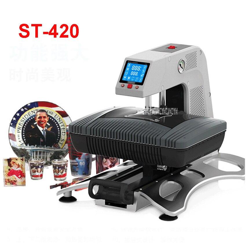 3D Sublimatie Printer 3D Vacuüm Sublimatie Warmte Pers Overdracht Machine Afdrukken voor Telefoon Gevallen Mokken Platen 110 V/220 V ST 420