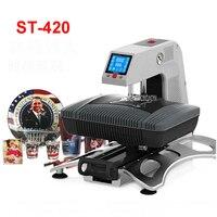 3D Sublimation Printer 3D Vacuum Sublimation Heat Press Transfer Machine Printing for Phone Cases Mugs Plates 110V/220V ST 420