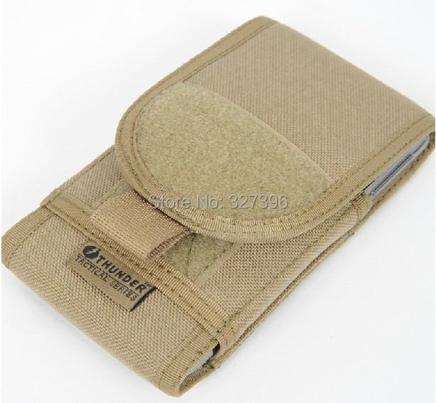 5.5 Inches Mobile Phone Case Samsung Note 2 3 Tactical Molle Cell Bag Sports Hiking Outdoor Belt/Waist - Adventure Club store