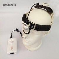 Полностью водонепроницаемый пыле, 3 Вт, AC/DC опционально Хирургическая фара для: ENT, стоматология, пластик хирургии (без увеличительное стекло