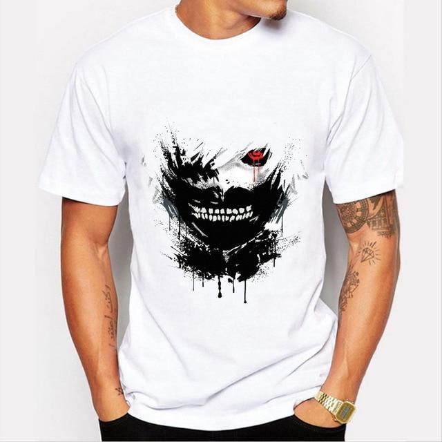 Anime Tokyo Ghoul Men T shirt