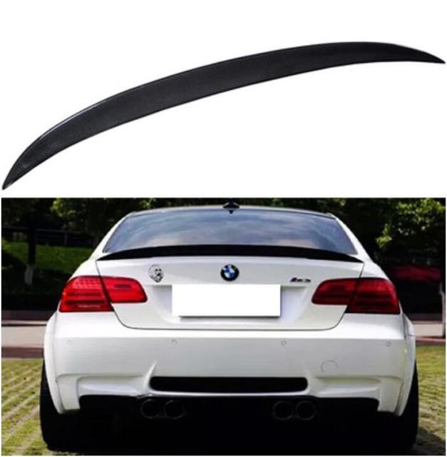 Carbon Fiber CAR REAR WING TRUNK SPOILER FOR BMW 3 Series E92 320i 325i 330i 335i