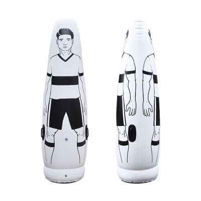 1.75 m adulte gonflable Football formation but gardien gobelet Air Football Train factice outil PVC gonflable gobelet mur