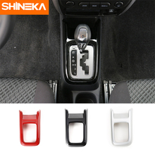 SHINEKA Car-Styling ABS Gear Shift Decorative Cover Trim for Suziki Jimny 2007+Car Accessories