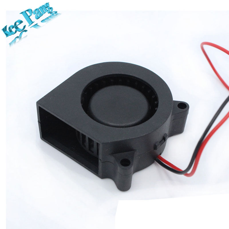 Free Shipping 3D printer accessories 12V 4020 turbo fan blower cooling fan free delivery original afb1212she 12v 1 60a 12cm 12038 3 wire cooling fan r00