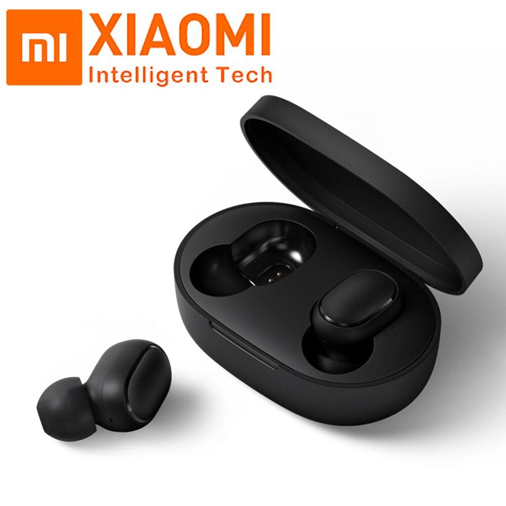 Original Xiaomi Mi Redmi AirDots Mini Voice control Wireless Bluetooth 5 0 TWS Earphones Noise reduction
