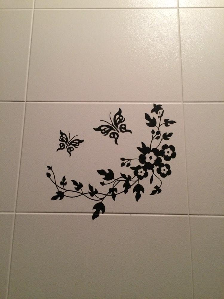 HTB1OLB KpXXXXcjaXXXq6xXFXXXp - 3D butterfly flowers wall sticker for kids room bedroom living room-Free Shipping