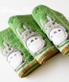 Baby Cotton Cartoon Totoro Face Towel Baby Towel Wash Cloth Handkerchiefs Infant Baby Feeding Saliva Towel