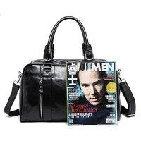 2019 Акция распродажа из натуральной яловой кожи для мужчин сумки мессенджер портфели повседневное сумка через плечо для мужчин 8190