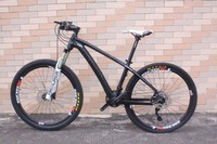 2018 factory price full mountain bike complete mtb bike 30 speed shimano M610 Toray t800 15/17/19 carbon mtb bike
