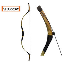35lbs Traditional Chinese Wood Recurve Bow Longbow Take Down Outdoor Hunting Target Shooting Games Estilingue