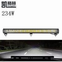 1 יחידות 234 W ספוט LED עבודת בר אור עמיד למים IP67 Offroad סירת רכב משאית טרקטור מקרני הנהיגה אור