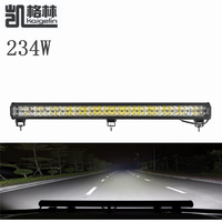 1PCS 234W LED Spot Work Light Bar Waterproof IP67 Offroad Boat Car Truck Tractor Floodlight Driving