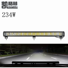 1PCS 234W LED Spot Work Light Bar Waterproof IP67 Offroad Boat Car Truck Tractor Floodlight Driving Light