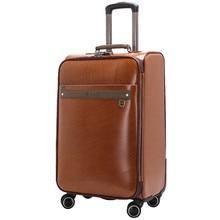 20 24″ inch Trolley suitcase luggage rolling spinner wheels Pull Rod trunk Men business traveller case boarding bag customs lock