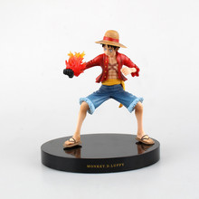 Anime One Piece Monkey D Luffy The New World PVC Action Figure Collectible Model Toy 18cm Retail Box WU153