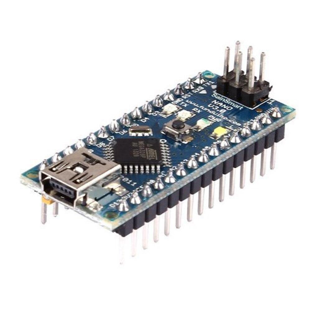Новый 1 шт. с загрузчик Nano 3,0 контроллер совместим для Arduino Nano CH340 USB-драйвер p10 Прямая поставка