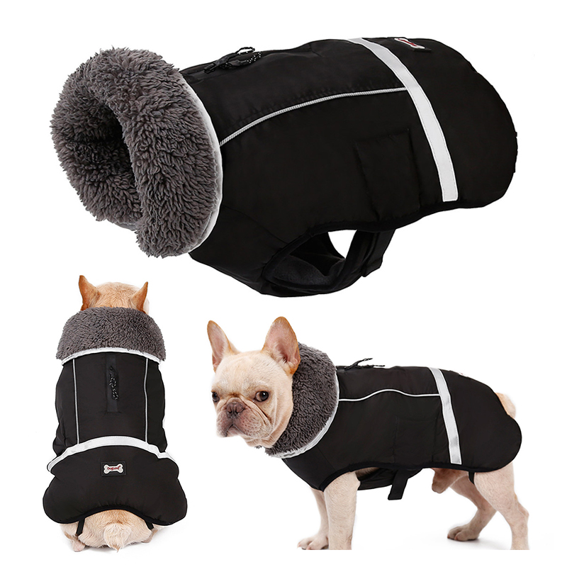 perfect for dachshunds dog winter coat with padded fleece lining and high collar dog snowsuit with adjustable bands Red Morezi Dog coats costume M