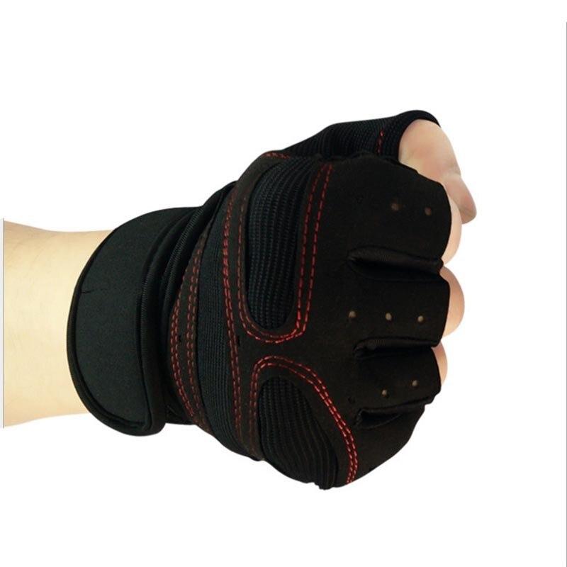 KopiLova 10 пар открытый лыжные перчатки без пальцев Половина Finger Антипробуксовочная перчатки для тяжелой атлетики Пеший Туризм Лыжный Спорт Во... ...