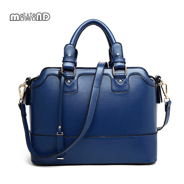 MIWIND Totes Bag Women Bag High Grade Women Leather Handbags Free Shipping Bags Handbags Women Famous Brands Ladies Hand Bags