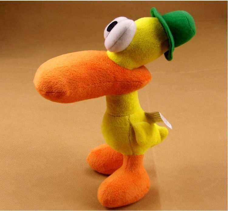"""22 cm = 8.7 """" bichos de pelúcia Pocoyo Pato Pato pelúcia para crianças"""