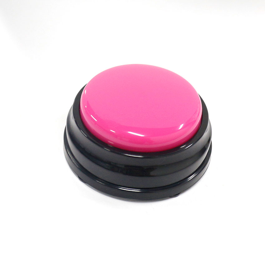 Free Shipping Small Size Easy Carry Voice Recording Sound Button For Kids Interactive Toy Answering Button
