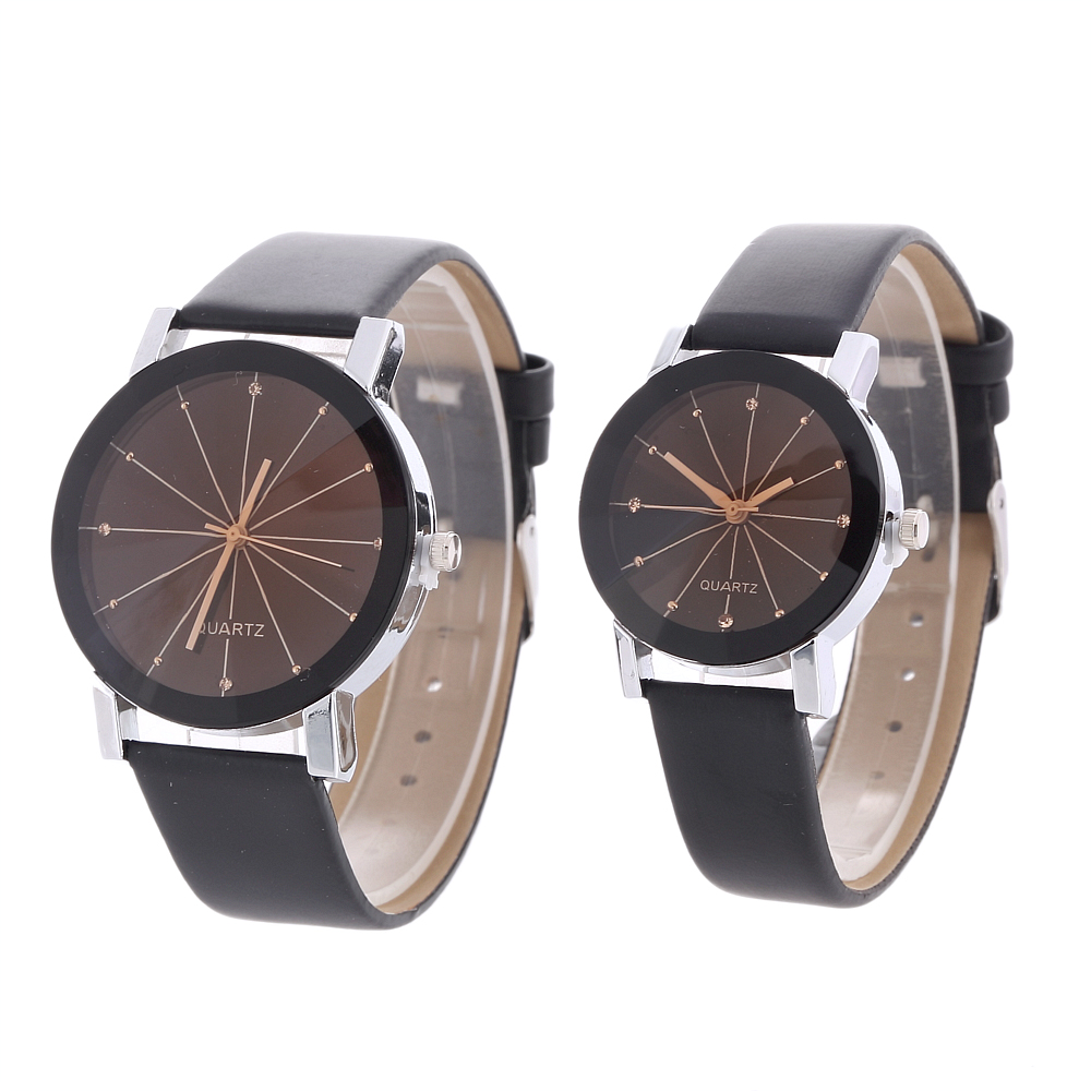 Lover's Watch Delicate Leather Band Quartz Wristwatches Women Men Casual Dress Couples intimate lover Watch clock Femme Relogio