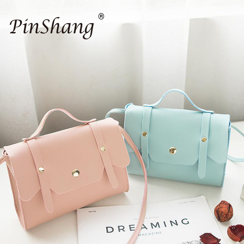 Women Shoulder Bag PU Leather Casual Female Crossbody Bag Fashion Messenger Bag Phone Coin Bag High Quality Handbag Zk30